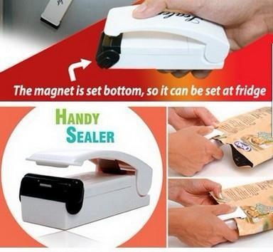 Mini Portable Hand Sealer Plastic Bag Food Storage Heat Seal