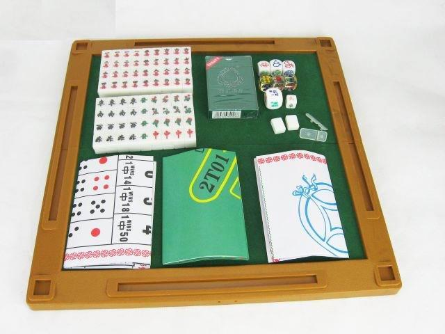 Mini Travel 6 in 1 Title Chinese Traditional Mahjong Game-1unit