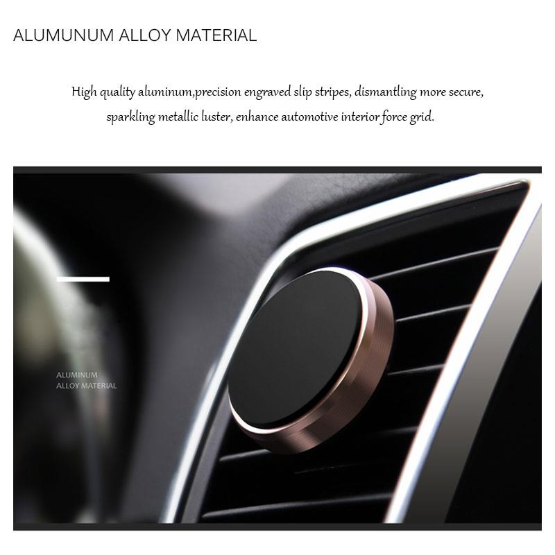 Mini universal magnetic air vent car mount holder for all smartphones
