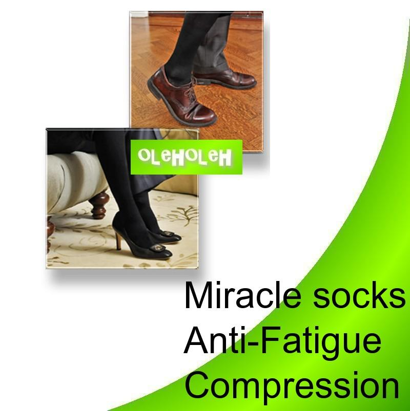 Miracle Socks Anti-Fatigue Compression Stocking For Man & Women