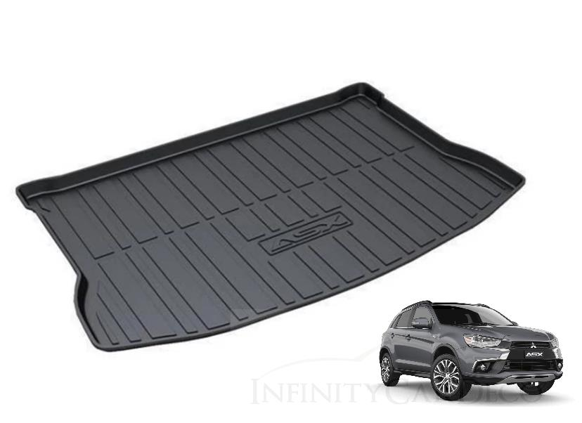 Mitsubishi ASX 2014-2016 ABS Anti Non Slip Rear Trunk Boot Cargo Tray