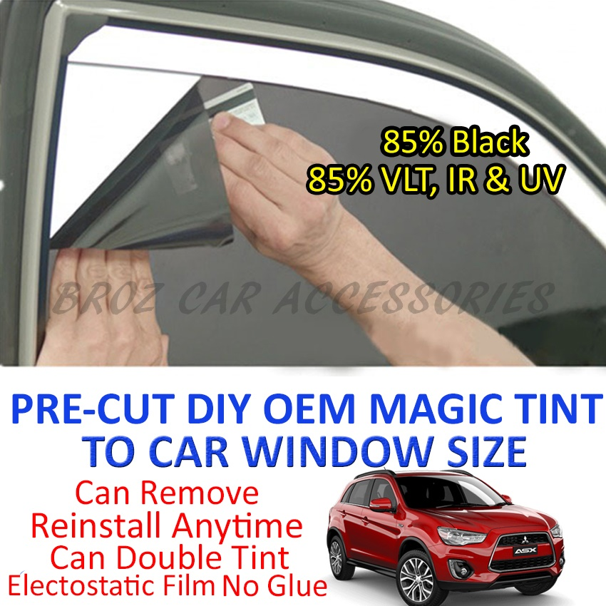 Mitsubishi ASX Magic Tinted Solar Window (4 Windows & Rear) 85% Black