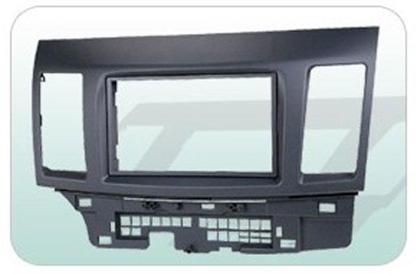 MITSUBISHI LANCER X/ FORTIS 2007-15 Double Din Player Casing Panel