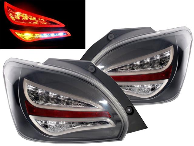 Mitsubishi Mirage '12 LED Light Bar Tail Lamp [Smoke/Black]