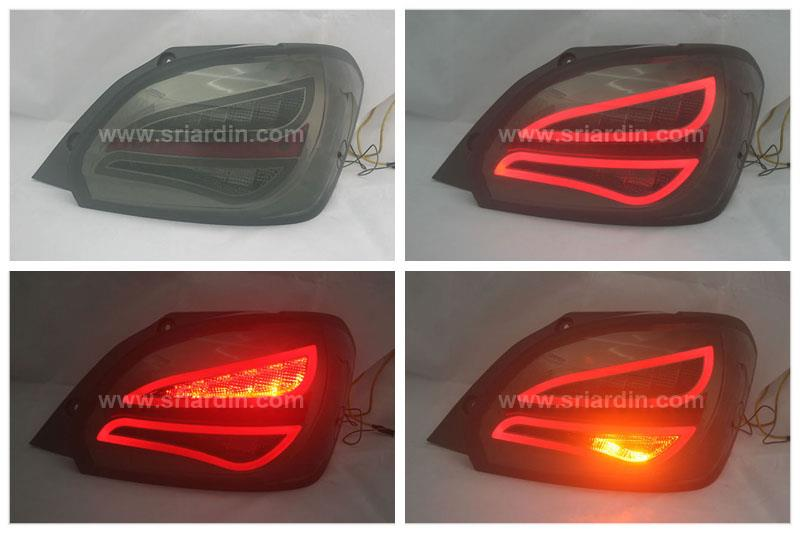 Mitsubishi Mirage 12 Smoke Light Bar LED Tail Lamp