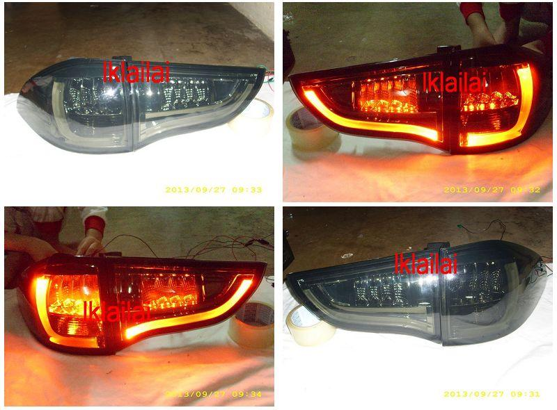MITSUBISHI PAJERO SPORT 09-12' LED TAIL LAMP [Smoke] Price per pair