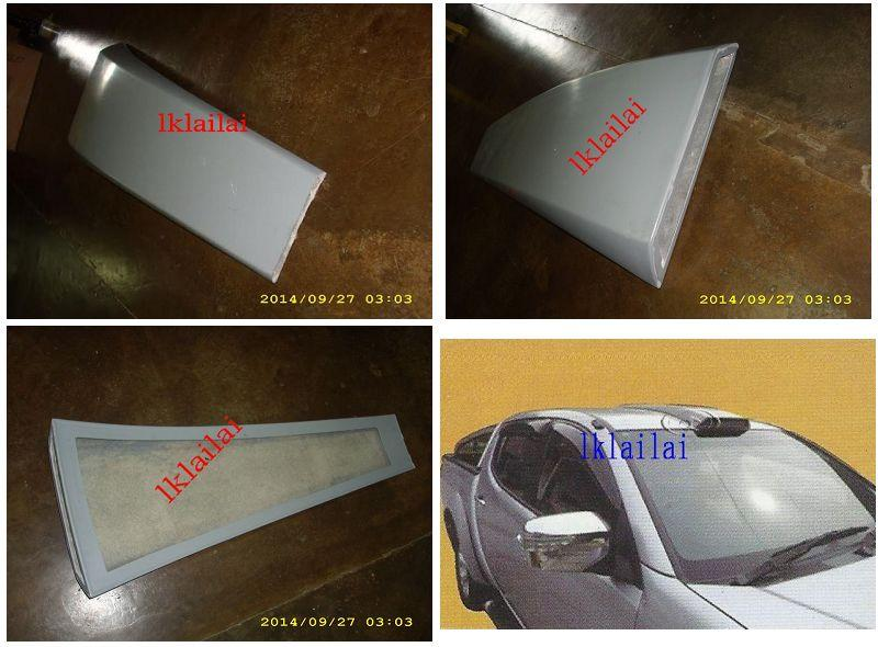 Mitsubishi Triton '11 Roof Scoop - Fiber Body Kit