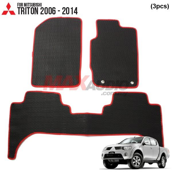 MITSUBISHI TRITON 2006 - 2014 EMANON-J (EVA) Custom Made Floor Carpet