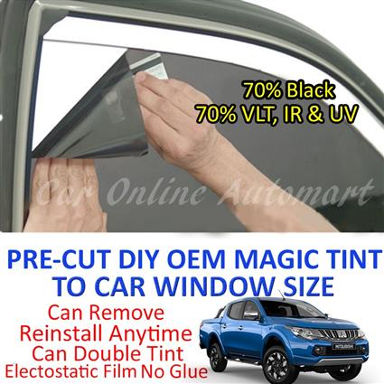 Mitsubishi Triton Magic Tinted Solar Window ( 4 Windows & Rear Window