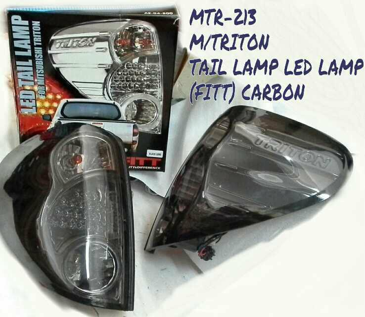 MITSUBISHI TRITON TAIL LAMP LED LAMP (FITT) CARBON