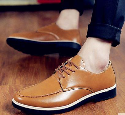 MKS24 Korean Style Formal Leather Men Shoes