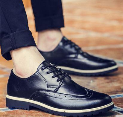 MKS27 Korean Style Formal Leather Men Shoes