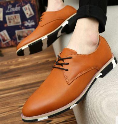 MKS28 Korean Style Formal Leather Men Shoes