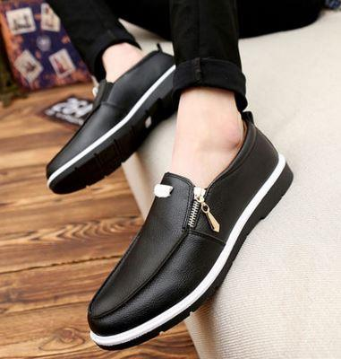 MKS33 Casual shoes, Leather shoes, fashion shoes Korean men shoes