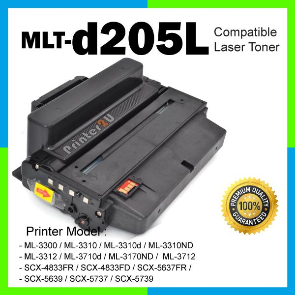 MLT-D205L 205L ML 3300 3310 3310d 3310ND 3312 3710d 3170ND 3712 ML3300