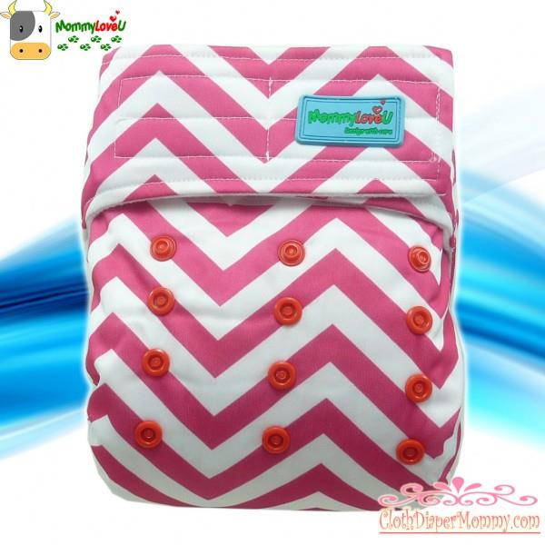 MLU Brilliant - Zigzag Cloth Diaper