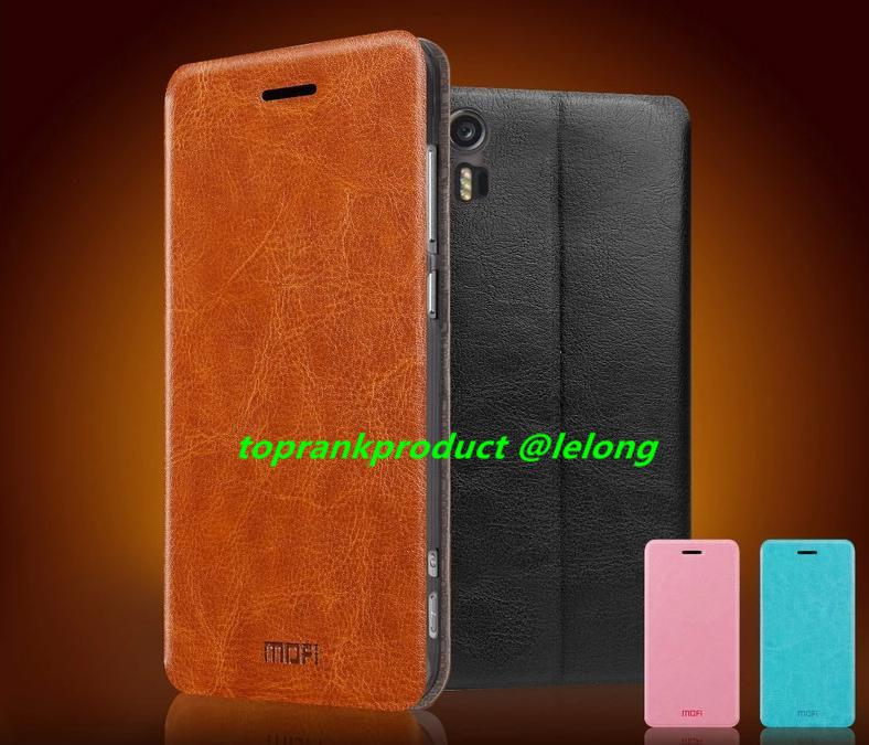 Mofi Lenovo Vibe Shot Z90 PU Leather Flip Case Cover Casing +Gifts