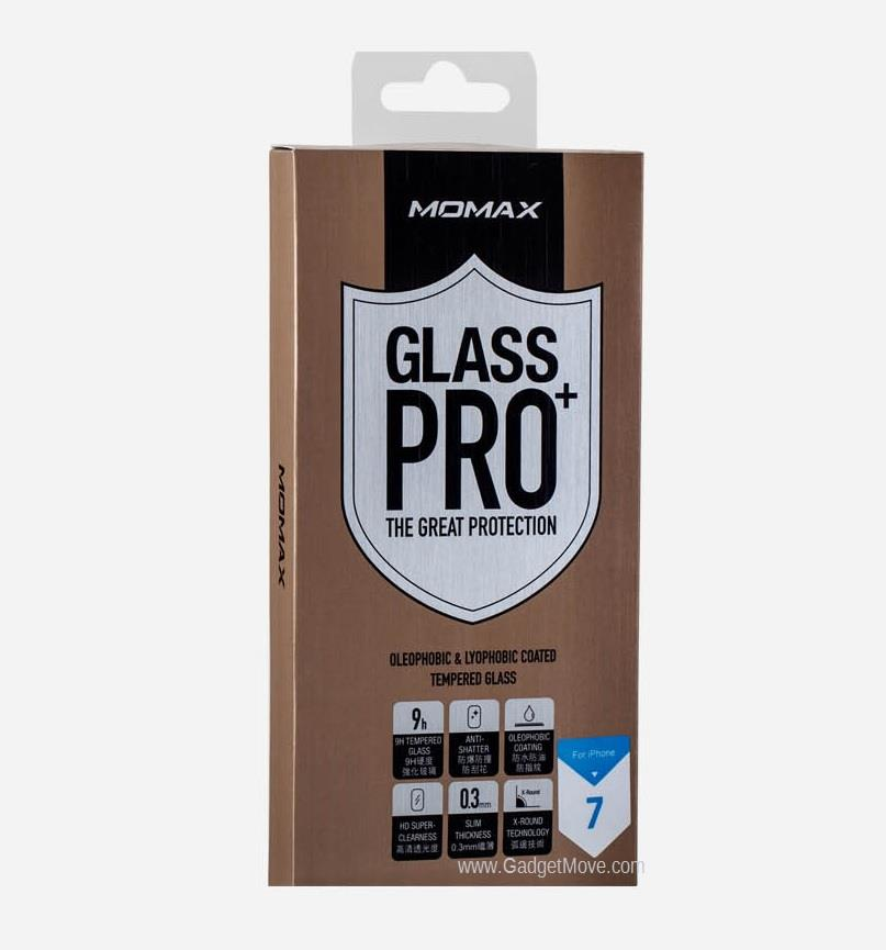 MOMAX iPhone 7 / 7 Plus Glass Pro+ Plus 0.3mm Tempered Glass