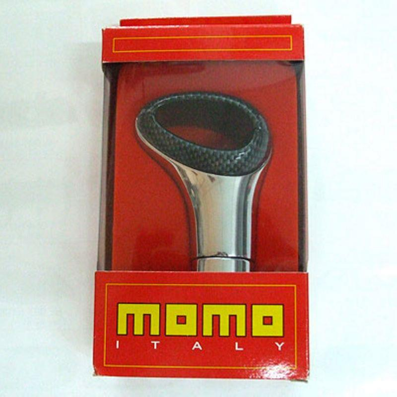 Momo Raptor Gear Knob Made In Italy [Carbon Chrome]