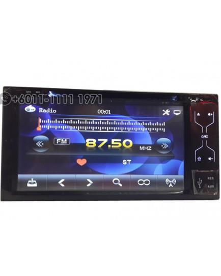 MONOCROSS 2 DIN Double Din DVD player 6959 TOYOTA 7' OEM PLAYER