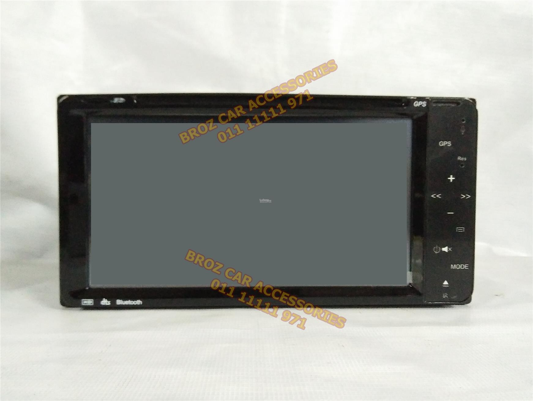 MONOCROSS OEM TOYOTA PLAYERD/DIN 7' T.SCREEN M/LINK FOR ANDROID (V5.0)