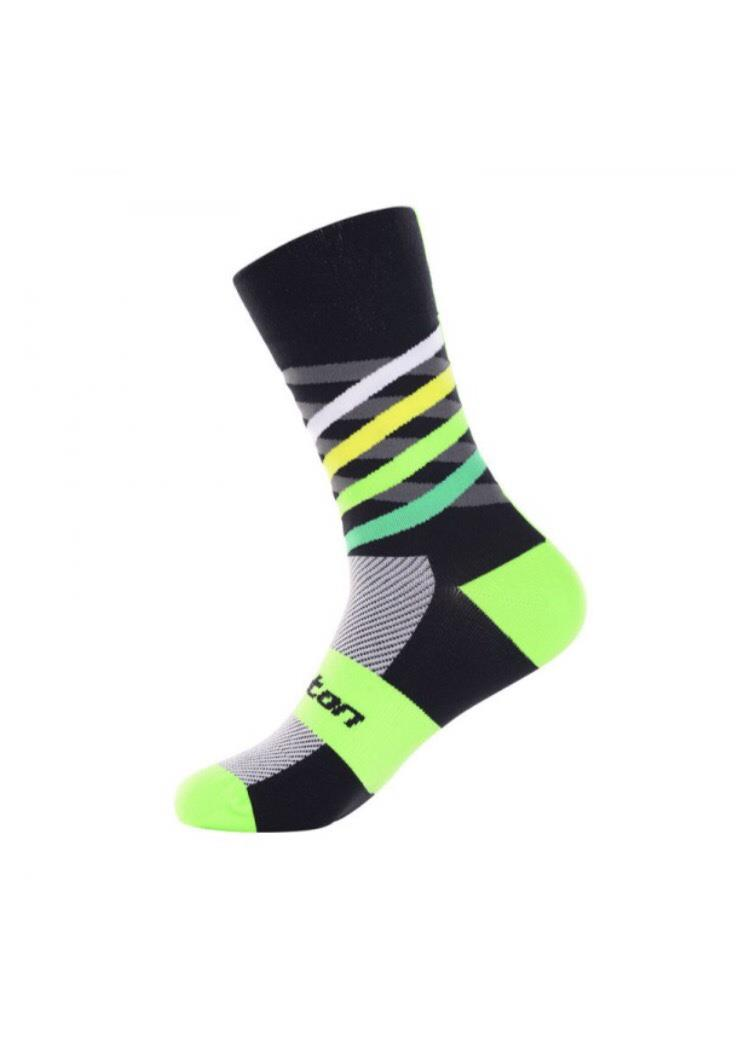 Monton Cycling Socks Dimensions Verdant Unisex Comfortable Quick Dry G