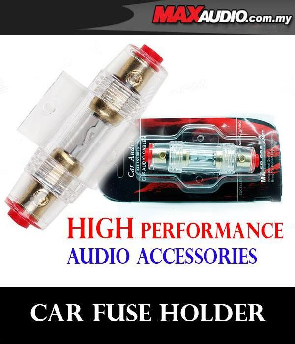 MOON AUDIO High Voltage Gold Plated Amplifier Fuse Holder [MA-FP-60A]