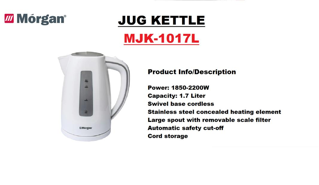 Morgan Jug Kettle (MJK-1017L)
