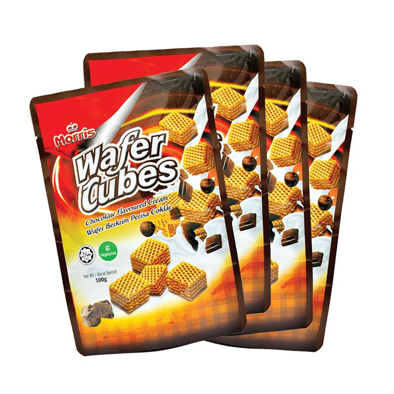 Morris Wafer Cube (100g x 4 Packs)