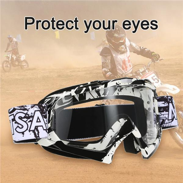 Motorcycle Racing Riding Cycling Goggles Outdoor Ski Windproof Antifog