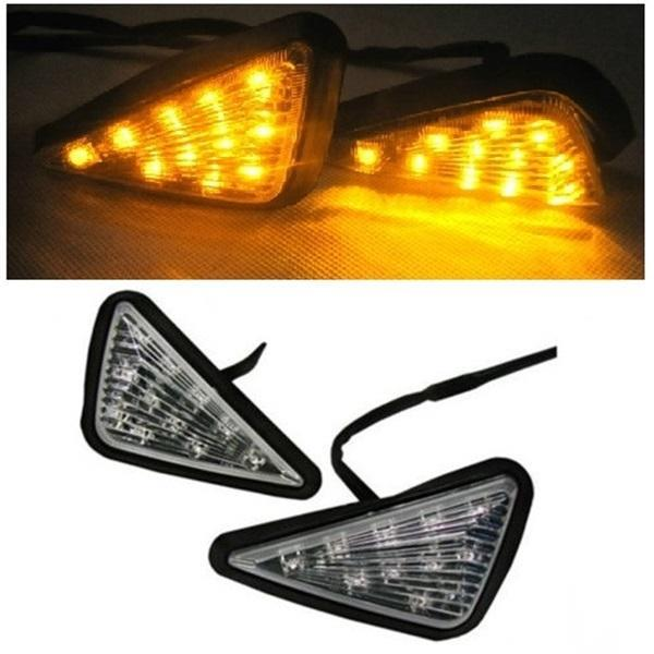Motorcycle Triangle Design Turning Signal Light Indicator(TSLI001T)