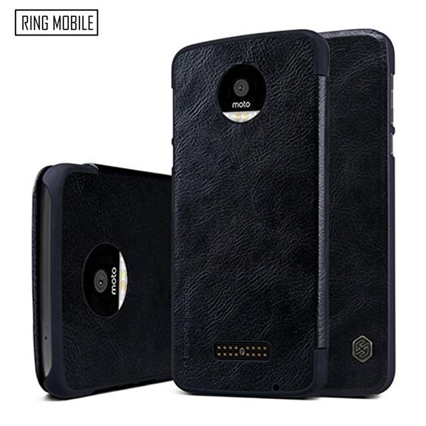 Motorola Moto Z Nillkin Qin series Leather Case