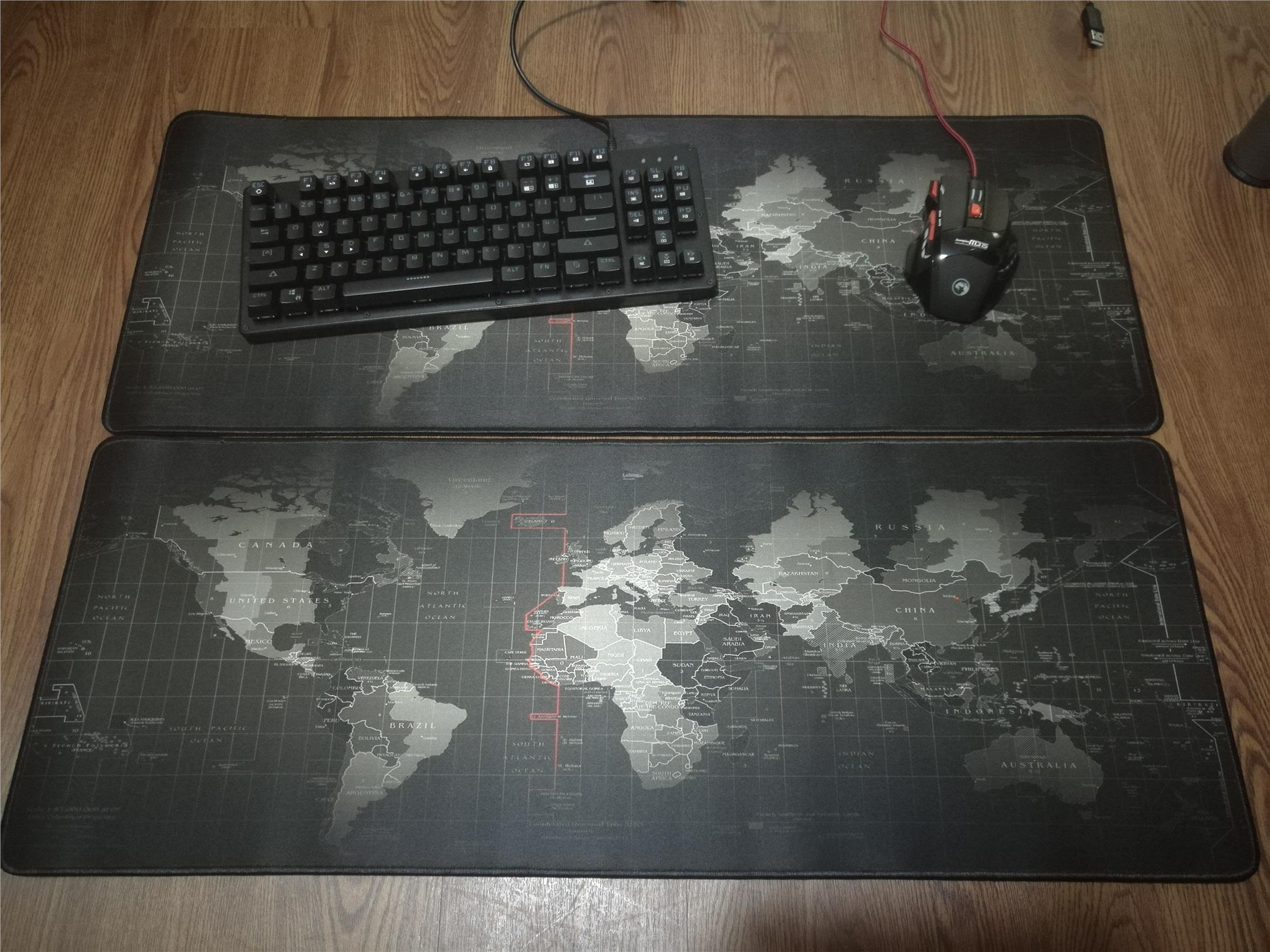 Mouse PAD (World Map)80mm x 30mm