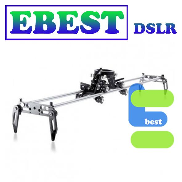Movie Maker Video Steel Rods Dual Rails Dolly Slider 120CM