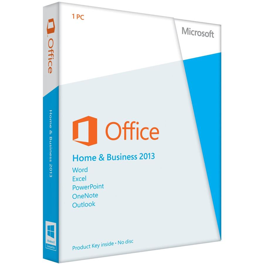 MS Office 2013 Home & Business Reta (end 12/19/2017 2:15 PM)