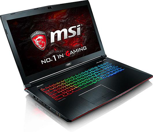 MSI GE72VR 7RF-283 (Ori Msia Set,Free Gaming Back)