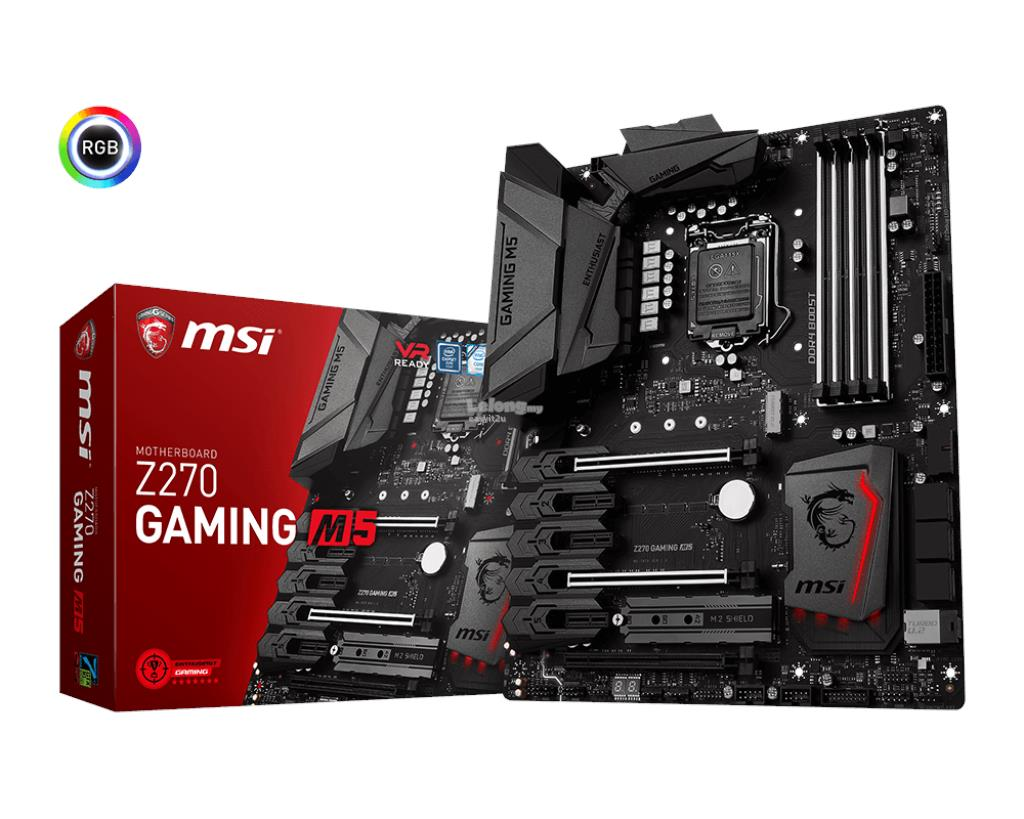 MSI Z270 GAMING M5 SOCKET 1151 MAINBOARD