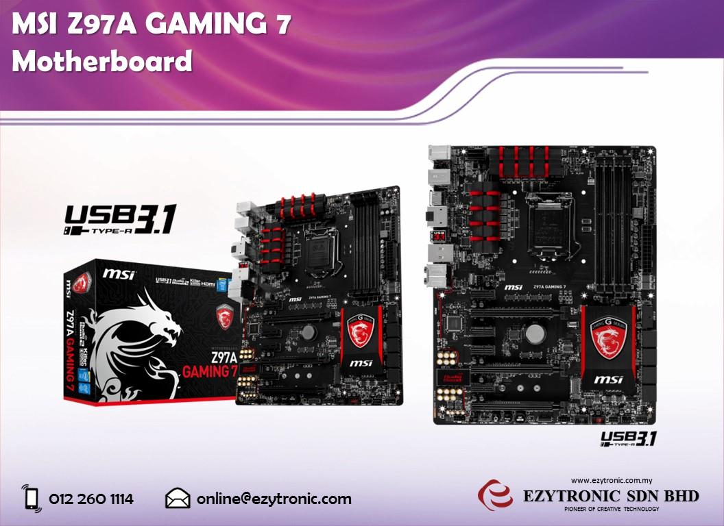 MSI Z97A GAMING 7 Motherboard