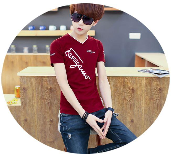 MTS14 Cotton Men Short Sleeve T-Shirt TShirt