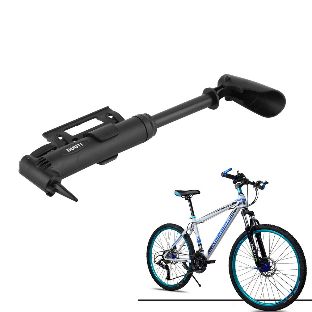 Multi-functional Portable Bicycle Cycling Bike Air Pump Tyre Tire Ball..