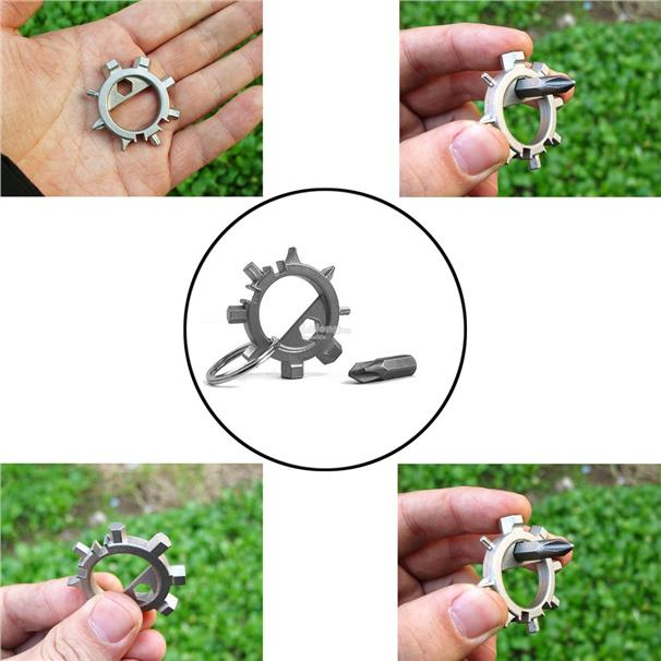 Multifunctional Octopus Bicycle Stainless Steel Screwdriver RepairTool