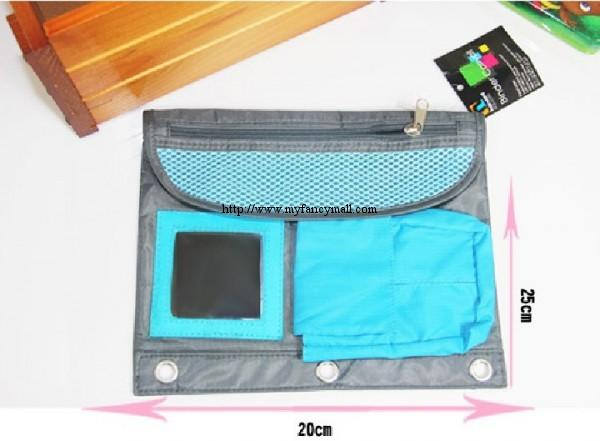 Multifunctional Storage Clutch Bags Paper Bag 2791-Light Blue