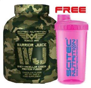 MUSCLE ARMY WARRIOR JUICE 2100 g - Chocolate