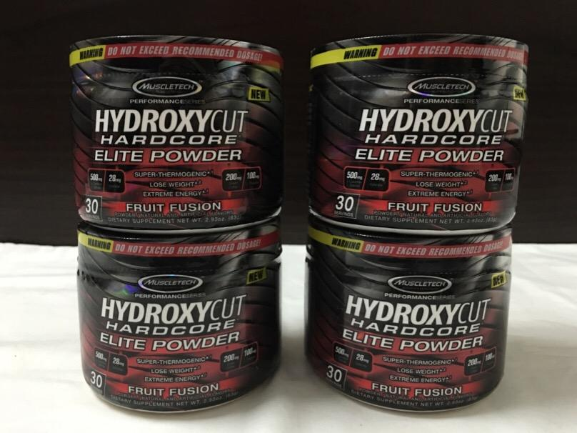 MuscleTech Hydroxycut Hardcore Elite Powder ( Bakar Lemak )