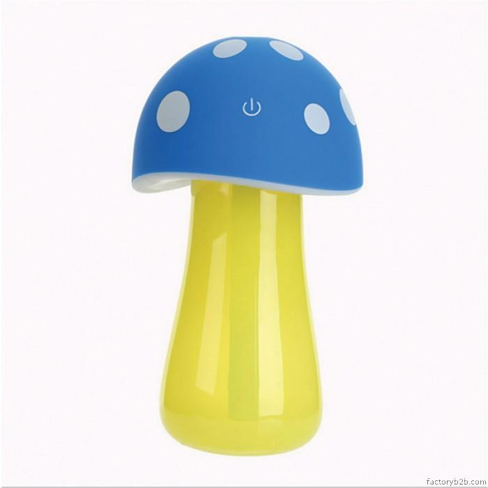 Mushroom Lamp Humidifier USB Portable Air Purifier