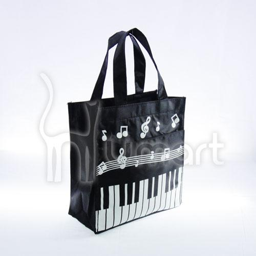 Music Note Piaono Keyboard Meduim Lunch Box Bag