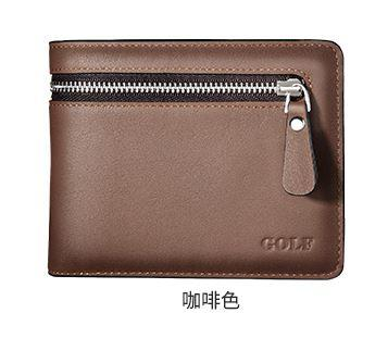 MW07 KOREAN Style Men High Quality Leather PU Wallet