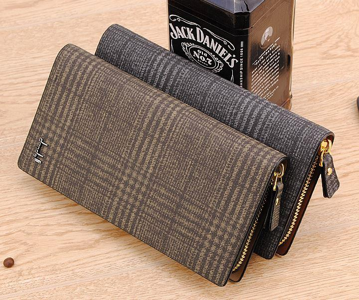 MW10 KOREAN Style Men High Quality Long Leather  Wallet
