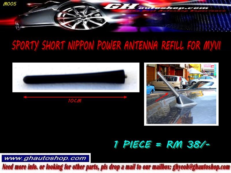 MYVI (O) YR2006-2011 SPORTY SHORT ROOF ANTENNA REFILL HEAD