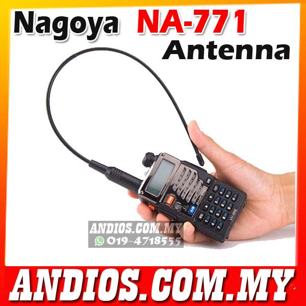 NAGOYA NA-771 Dual Band Antenna BAOFENG KENWOOD NA771 Walkie Talkie